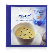 Delivers the 20 cult Vichy Célestins recipes