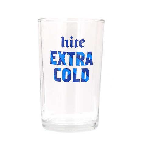 Hite Brewery Company - Verre à bière 20cl Hite extra cold