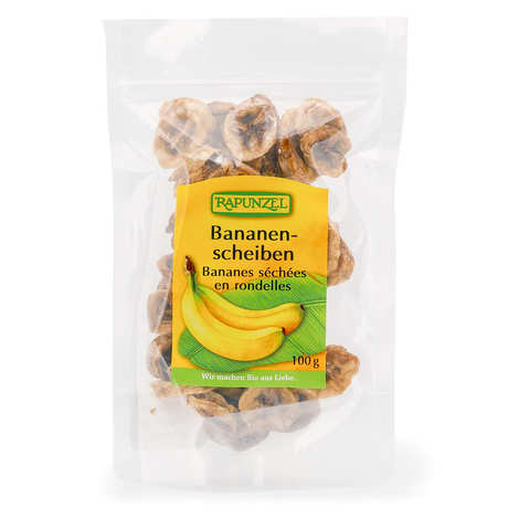 Rapunzel - Organic Dried Bananas in slices