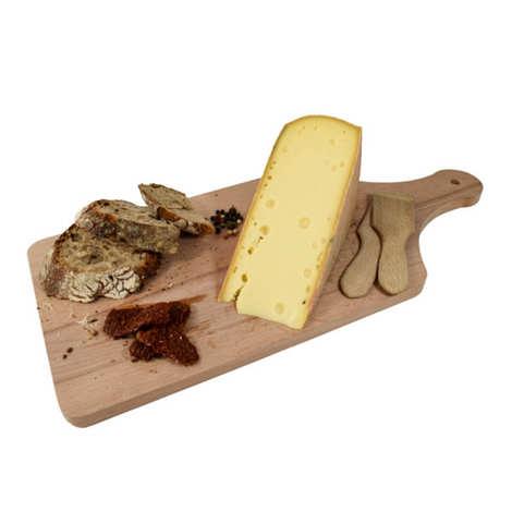 Fromagerie Badoz - Fromage à Raclette fumé au lait cru La Cendrée du Haut-Doubs