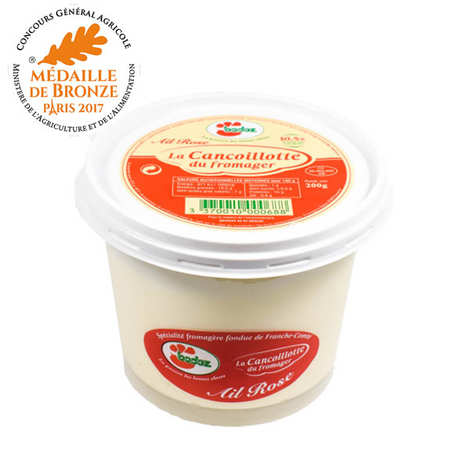 Fromagerie Badoz - Cancoillotte du fromager Badoz à l'ail rose