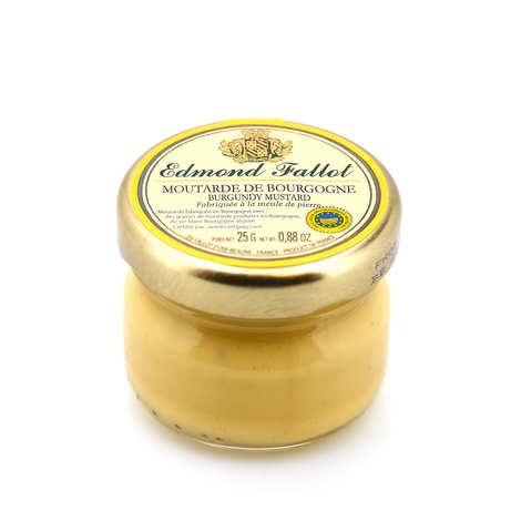 Fallot - PGI Burgundy mustard in jar portion