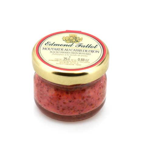 Fallot - Moutarde au cassis de Dijon en pot portion