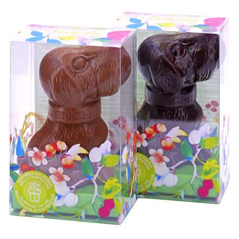 Venchi - Petit chien de Pâques en chocolat