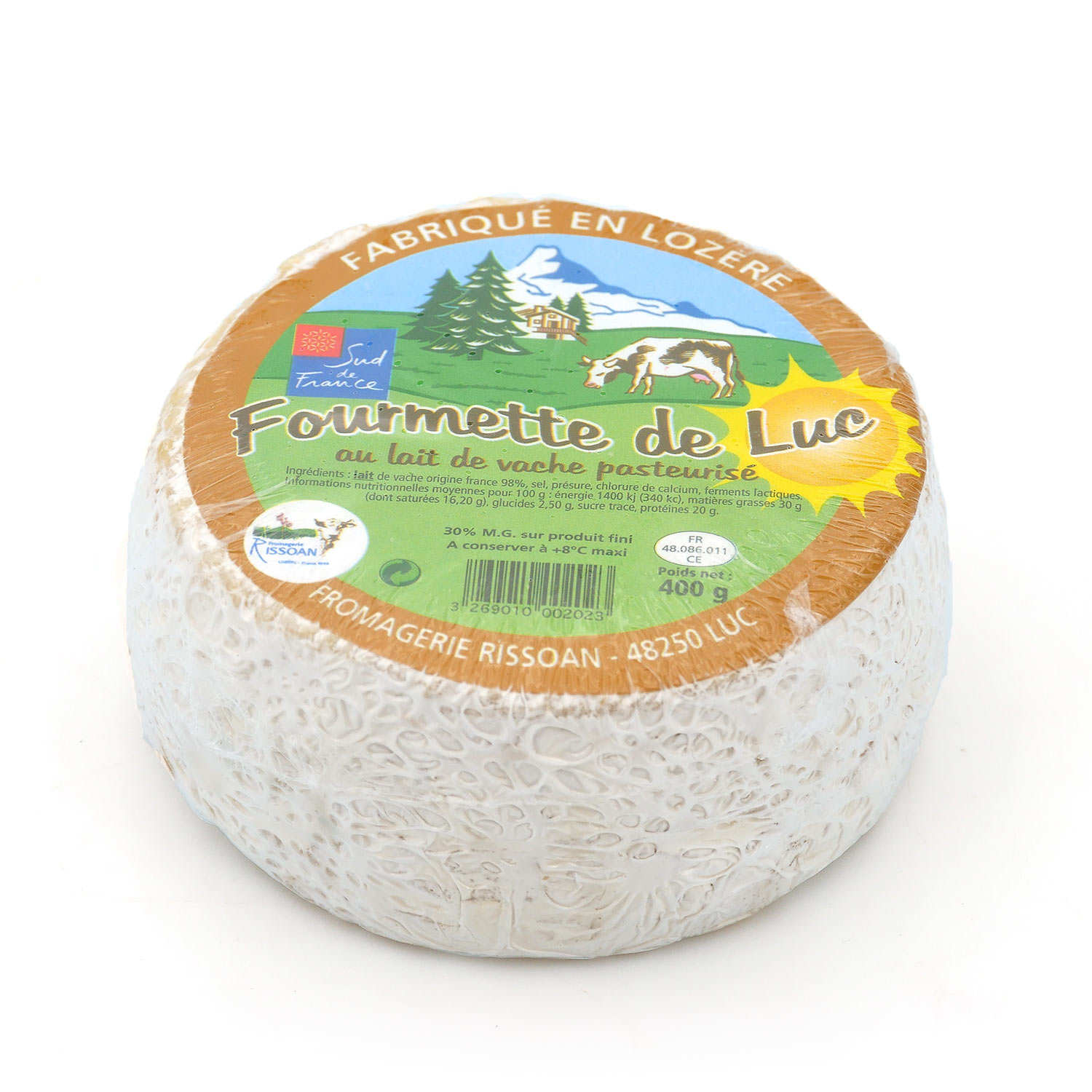 Fourmette De Luc Cheese Made From Pasteurized Cow S Milk From Lozère Fromagerie Rissoan