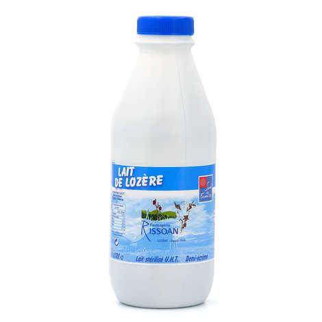 Fromagerie Rissoan - Semi-skimmed milk from Lozère - Laiterie Rissoan