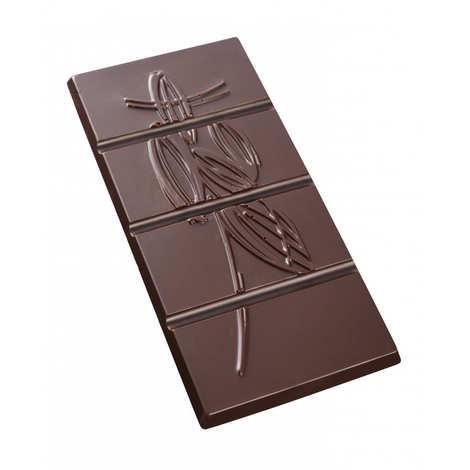 Castelanne - Tablette chocolat noir origine Mexique - Chapias 75%