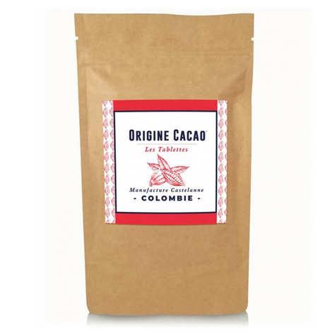 Castelanne - Tablette chocolat noir Colombie MACEO Criollo 72 %