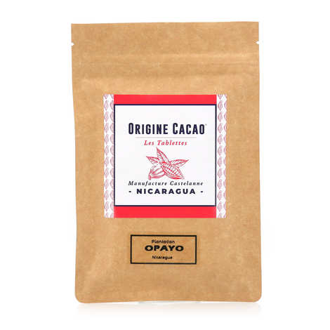 Castelanne - Dark chocolate bar of Nicaragua - Opayo