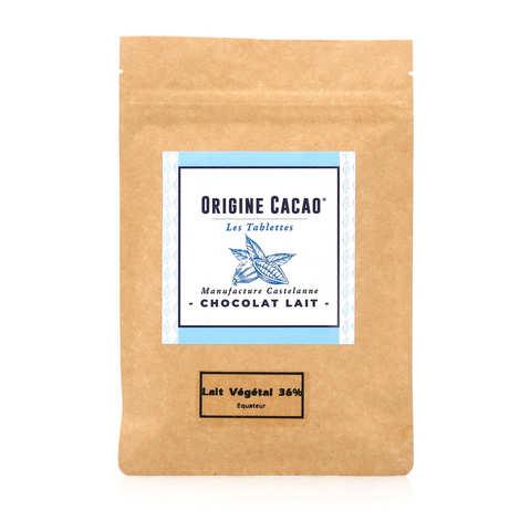 Castelanne - Organic Chocolate bar - Ecuador Arriva with vegetable milk