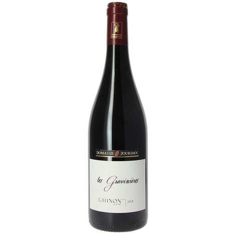 Domaine Jourdan - Chinon AOP vin rouge - Les Gravinières