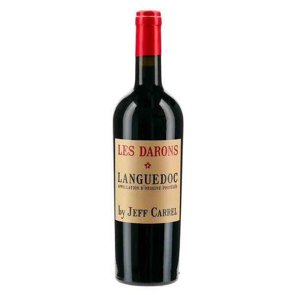 Les Darons by Jeff Carrel Vin rouge du Languedoc