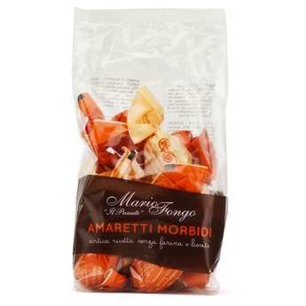 Mario Fongo - Il Panate - Amaretti Morbidi alla Mandorla