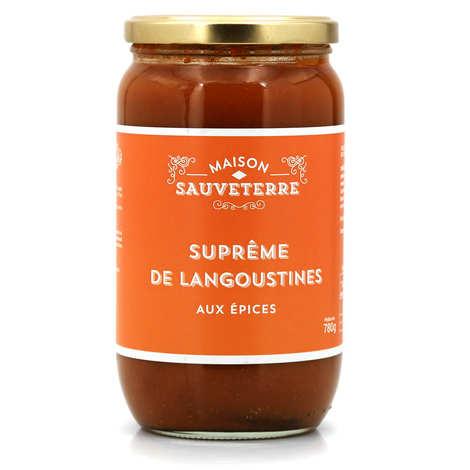 Maison Sauveterre - Scampi with Spices Soup - Maison Sauveterre