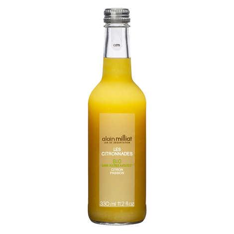 Alain Milliat - Organic lemonade - lemon and passion fruit - Alain Milliat