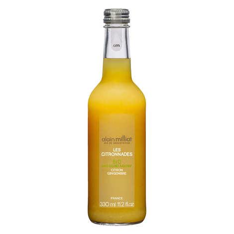 Alain Milliat - Organic lemonade - lemon and ginger - Alain Milliat