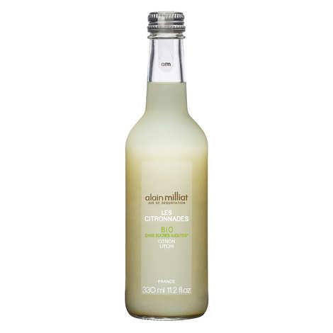 Alain Milliat - Organic lemonade - lemon and lychee - Alain Milliat