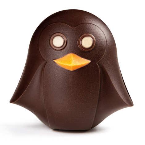 BienManger.com - P'tit pingouin de Pâques en chocolat noir