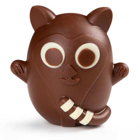 BienManger.com - Little Lemur for Easter in Dark Chocolate