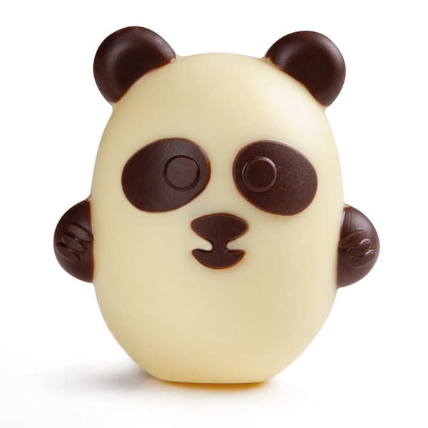 P'tit Panda de Pâques en chocolat blanc