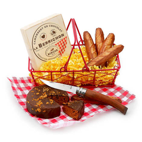 BienManger.com - Small Easter basket - Chocolate snack