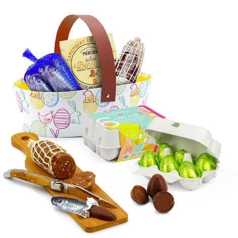 BienManger.com - Large Easter basket - Chocolate snack