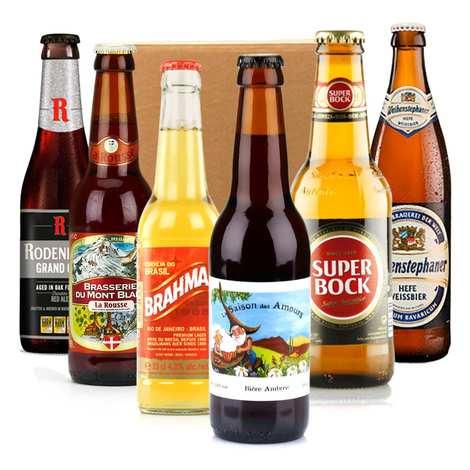 - Box découverte de 6 bières de printemps (mars)