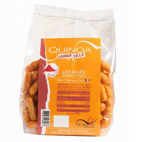 Quinoa d'Anjou - Quinoa Croustille - Paprika