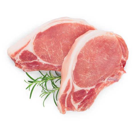 Maison Bousquet - Côtes de Porc Lou Teychou avec couenne