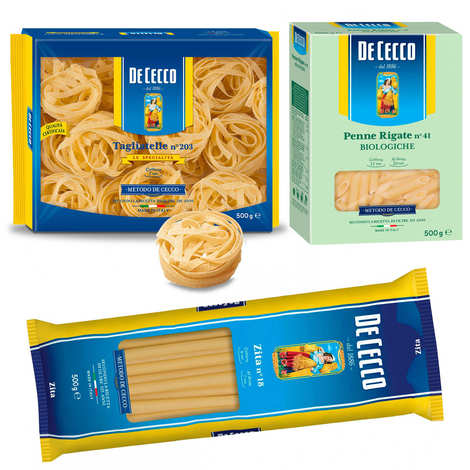 De Cecco - 15 paquets de pâtes De Cecco