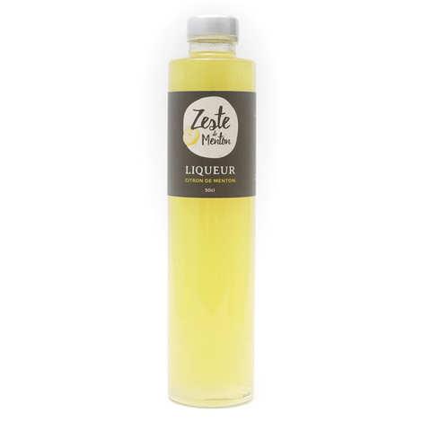 Zeste de Menton - Liqueur de Citrons de Menton IGP