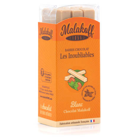 Malakoff & Cie - White chocolate with chestnuts Malakoff 1855 without individual packaging