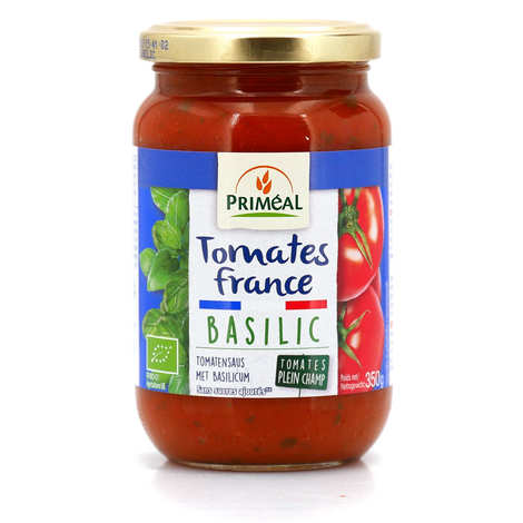 Priméal - Organic Tomato Sauce From France With Basil