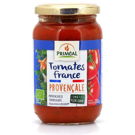 Priméal - Sauce tomates de France bio à la provençale