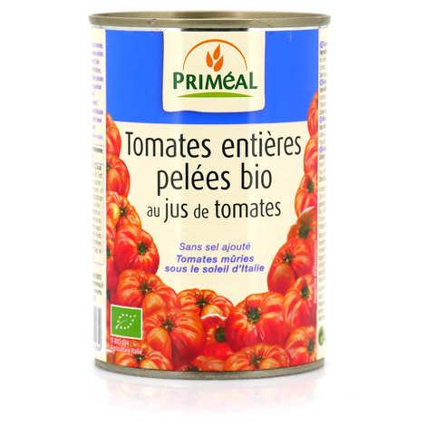 Priméal - Tomates entières pelées italiennes bio