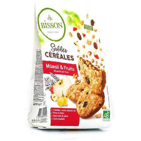 Bisson - Organic cereal müesli & fruit shortbreads
