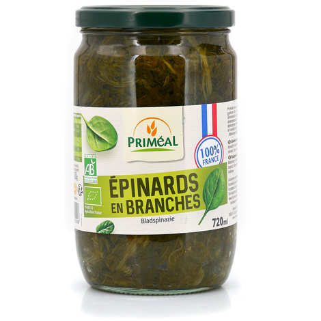 Priméal - Organic spinach from France