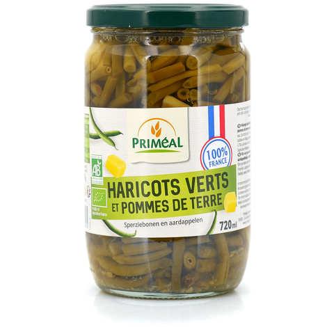 Priméal - Mélange haricots verts pommes de terre bio de France