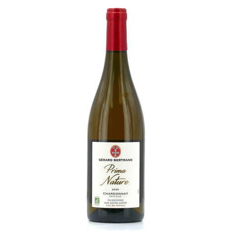Gerard Bertrand - Prima nature Chardonnay- Vin blanc bio et sans sulfites ajoutés