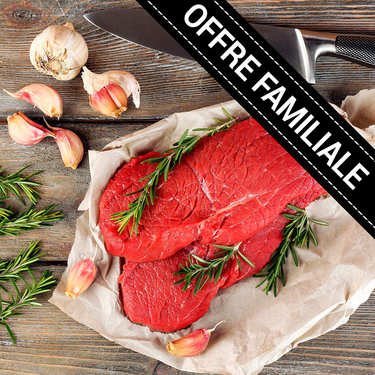Family offer : Extra Steaks by Bousquet