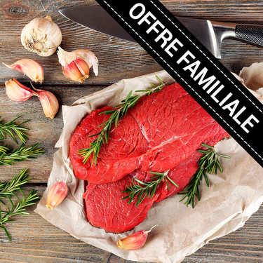 Offre familiale : Steaks extra Bousquet de boeuf du Massif Central