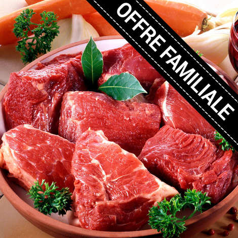 Maison Bousquet - Family offer : Beef bourguignon extra of Massif Central beef