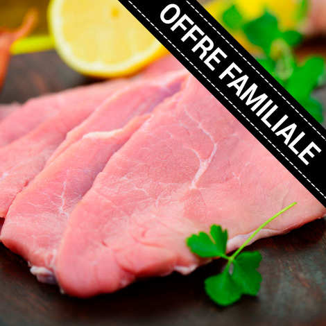 Maison Bousquet - Family offer : Cutlets of Label Rouge veal from Aveyron and Ségala PGI
