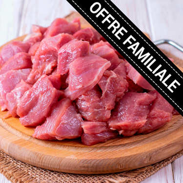 Family offer : Label Rouge sauteed veal