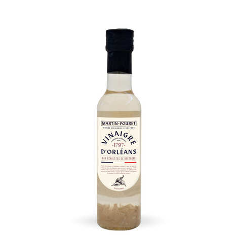 Martin Pouret - Orleans white wine vinegar with shallots from Brittany