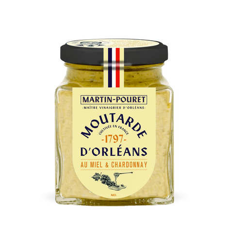 Martin Pouret - Honey and Chardonnay Orleans Mustard