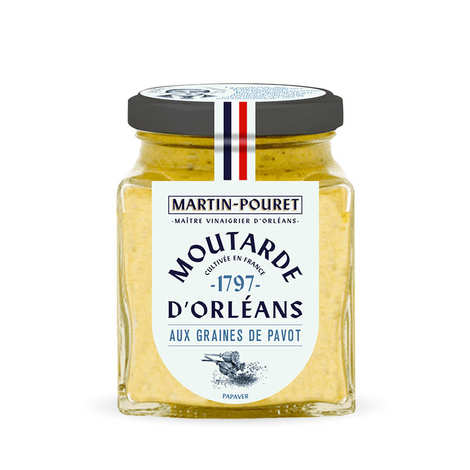 Martin Pouret - Orleans mustard with poppy seeds