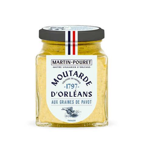Martin Pouret - Moutarde d'Orléans aux graines de pavot