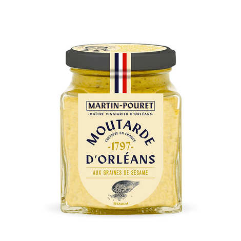Martin Pouret - Orleans Mustard with Sesame Seeds
