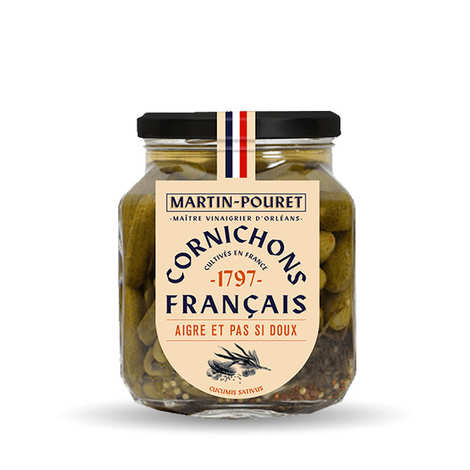 Martin Pouret - French Sweet and Sour Gherkins from the Loire Valley